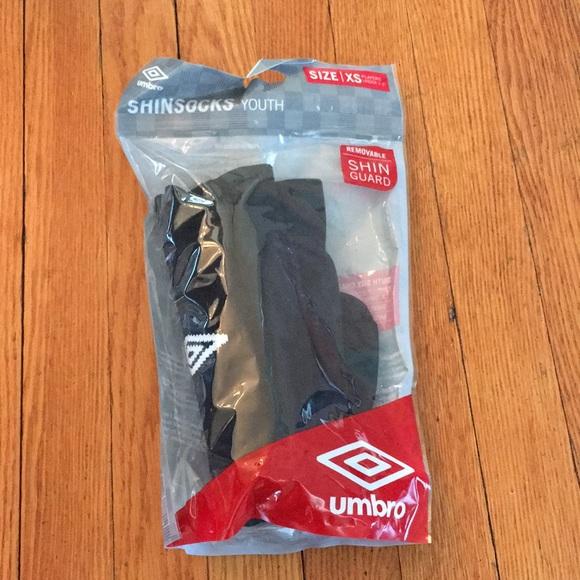 b5646886ca03 Umbro youth shin guard socks